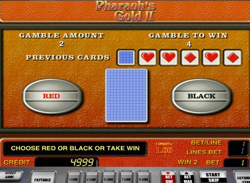 加倍插槽遊戲Pharaoh's Gold II