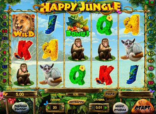 Happy Jungle在線播放插槽